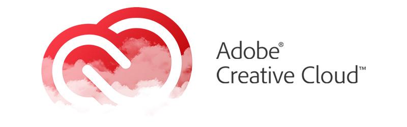 Logotipo e imagen de Adobe Creative Cloud